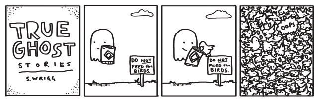True Ghost Stories Comic - Birds