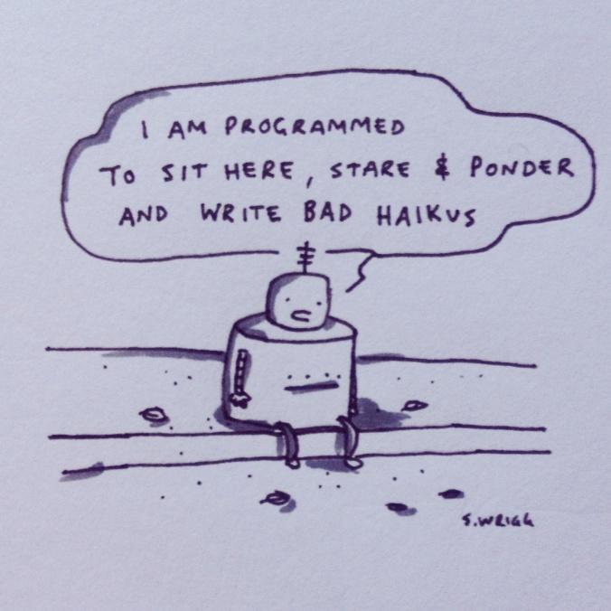 Poetrybot 3000XA Comic