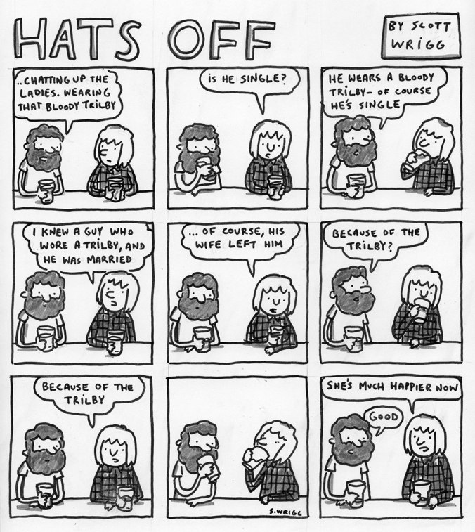 Hats Off - By Scott Wrigg