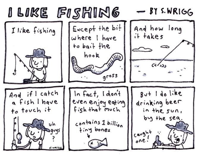 Fishing - By Scott Wrigg
