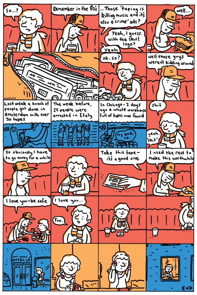 Tapes - Scott Wrigg Comix