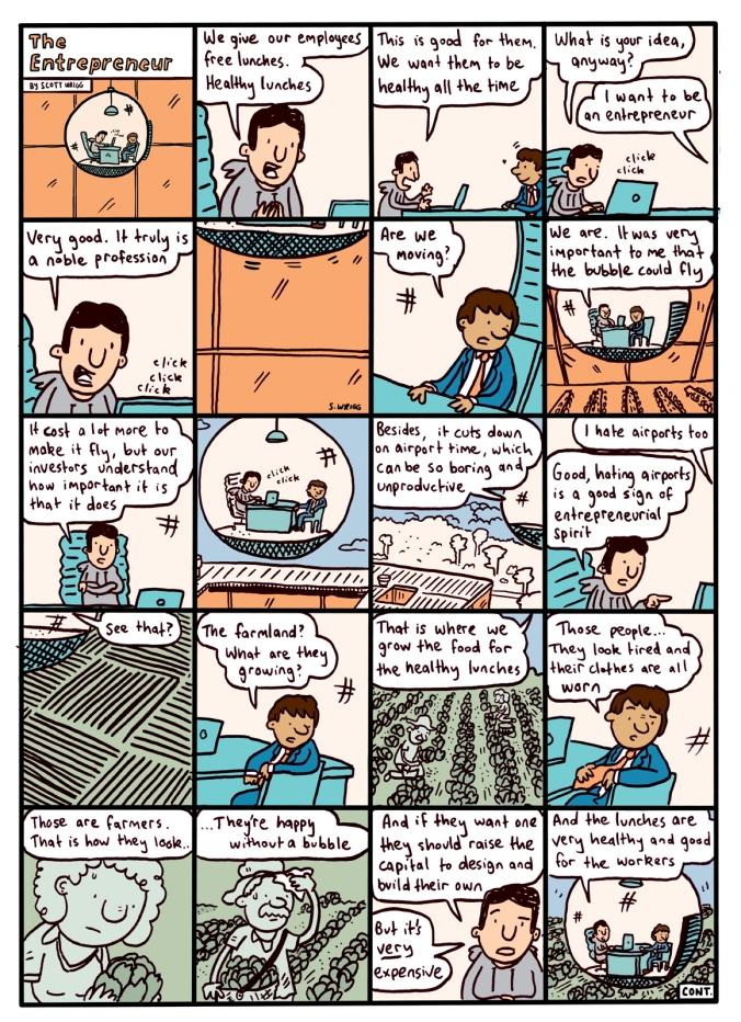 The Entrepreneur, Part 2 - By Scott Wrigg